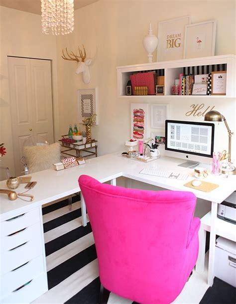 inspiring feminine home office decor ideas   dream