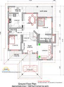 Floor House Plans by House Plan And Elevation 2165 Sq Ft Kerala Home Design