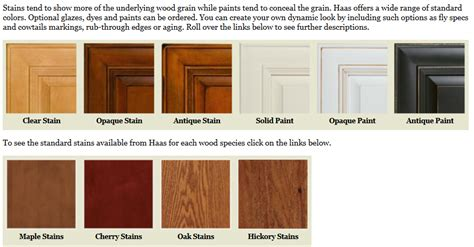 kitchen cabinets finishes haas cabinet finishes made kitchens
