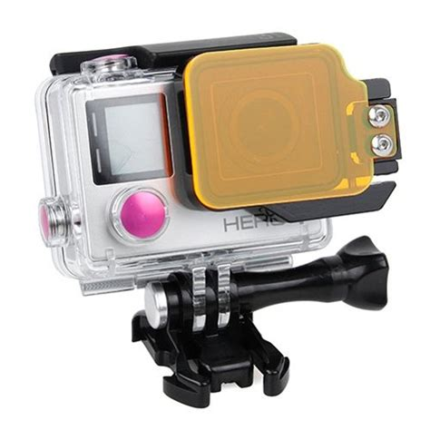 Tmc Light Motion Sea Filter For Gopro 4 3 T3009 tmc light motion sea filter for gopro 4 3 orange jakartanotebook