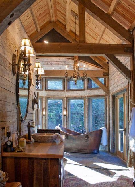 home and cabin decor 24 interiors in cabin log style messagenote