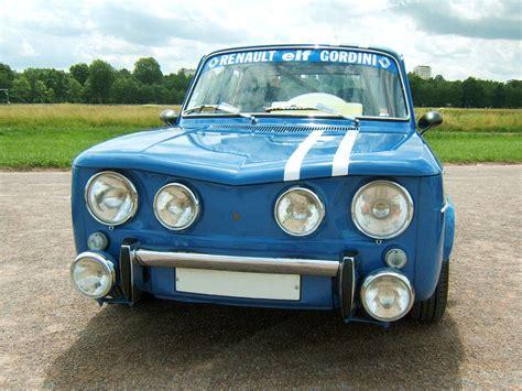 renault gordini r8 voitures