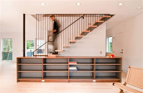 Cabinet Design Stairs by Modern Storage Ideas For Small Spaces Staircase Design