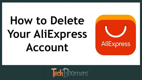 aliexpress my account how to delete your aliexpress account youtube