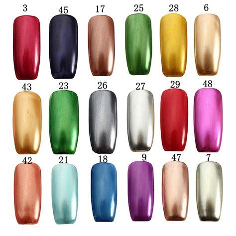 Color Metal Nail 18 colors 15ml soak metallic metal nail uv gel