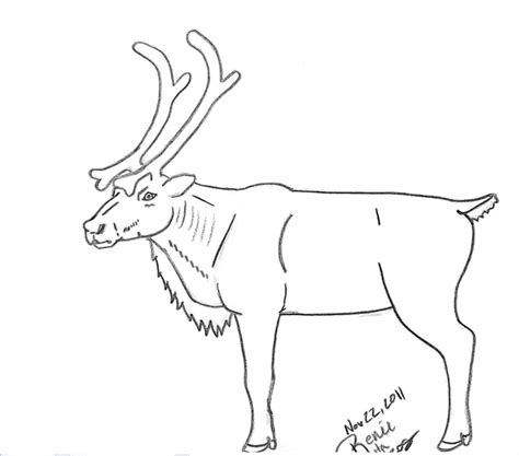 doodle draw reindeer reindeer sketch by angelinthewoods on deviantart
