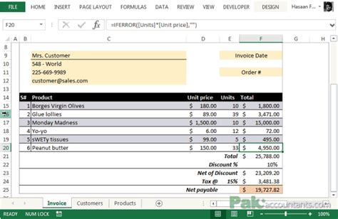 product invoice template hardhost info