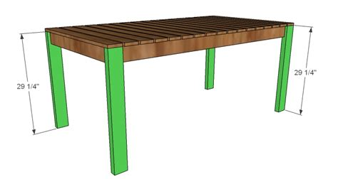 Make A Table For Your Dining Table Build Dining Table Wood