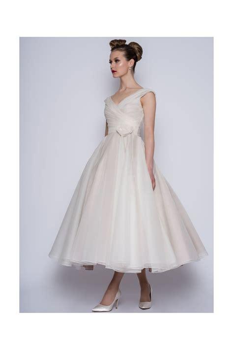 Dress Jaguard Vanila Ori Amelia loulou amelie calf ankle or tea length vintage 50s