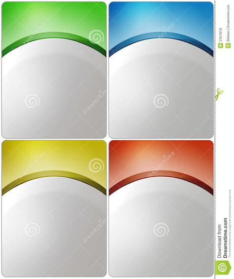 free poster design templates stylish presentation of business poster royalty free stock