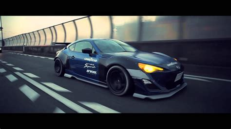 subaru brz rocket bunny wallpaper subaru brz with rocket bunny aero kit xcar youtube