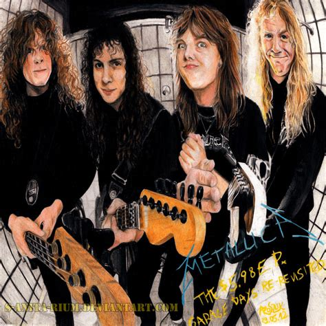 Metallica Garage Days Re Revisited metallica the 5 98 e p garage days re revisited by szajn on deviantart