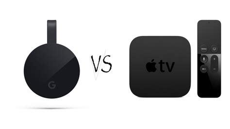 which is better chromecast or apple tv chromecast ultra vs apple tv review now both 4k