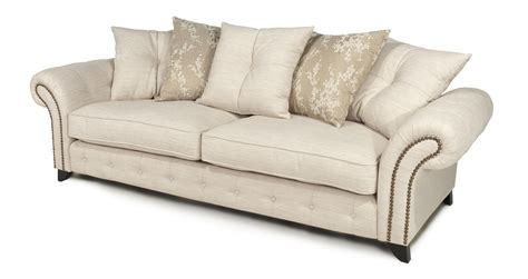 cheap cream fabric sofas dfs akasha cream fabric sofa set inc 4 seater sofa and 2
