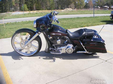 Harley Davidson Big Wheel by Custom Cycles Ltd 30 Inch Wheel Cvo Glide Big Wheel