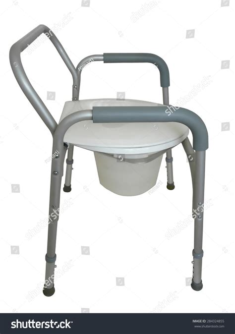Used Commode Chair - bedside commode be used raised seat stock photo 284324855