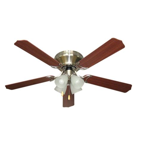 ceiling fans nickel finish ceiling fan with light with alabaster glass in brushed
