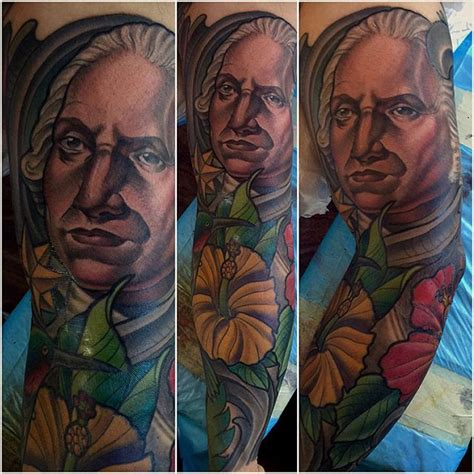 george washington tattoo george washington remington