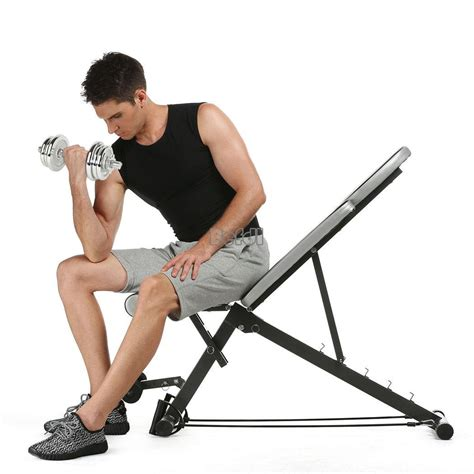 ab workout bench folding ab sit up bench board abdominal workout fitness