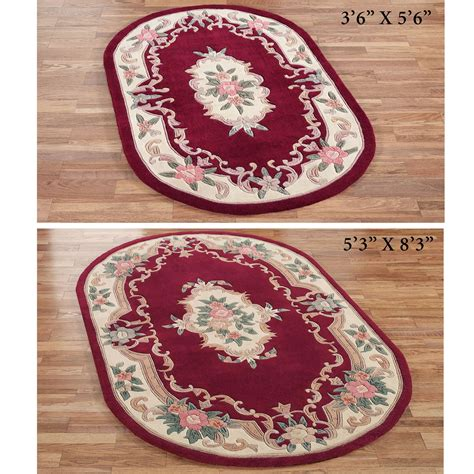 serena aubusson area rugs serena aubusson oval rugs