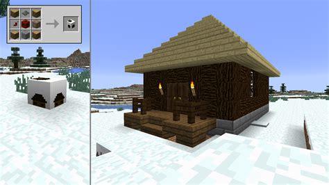 Minecraft Winter Cabin by The Spirit Of Minecraft Mods