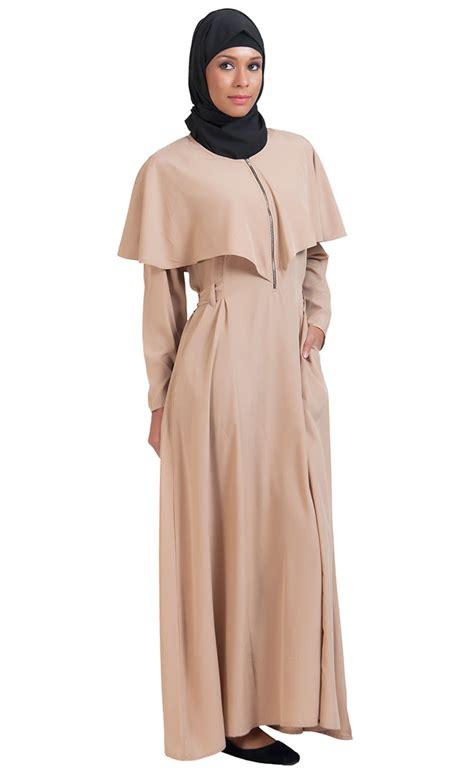 Cape Arab Vs zipper cape abaya