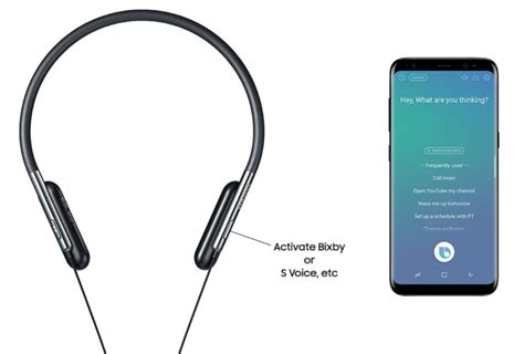 samsung s new u flex headphones bend and launch bixby for you sammobile