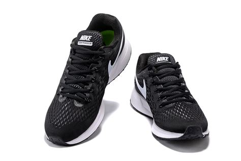 Jogger 34 Nike Trainer nike air zoom pegasus 34 em running shoes sneakers trainers black white 831350 001 zmshoes