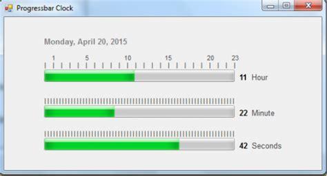 vb net tutorial progress bar visual basic 2008 2012 progressbar clock in vb net free source code tutorials