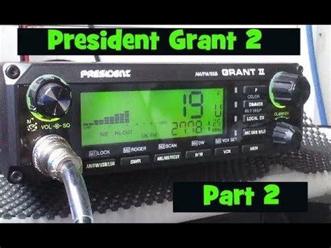 Modification Cb Radio by President Grant Ii Am Fm Ssb Frequency Modification Doovi