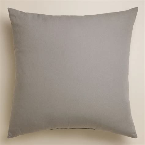 Grey Outdoor Pillows by Gray Outdoor Throw Pillow World Market