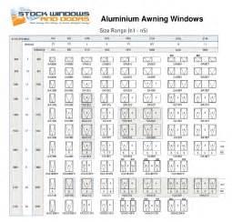 Awning Windows Sizes Window Sizes In Stock Window Sizes