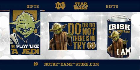 notre dame fan shop star wars and notre dame gifts notre dame fan store