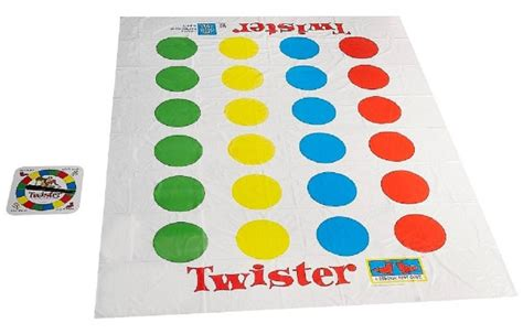 twister dot 3 and she games retro twister