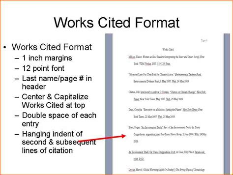 mla works cited page template 7 what does an mla works cited look like budget