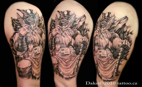 thor tattoo by daksi on deviantart