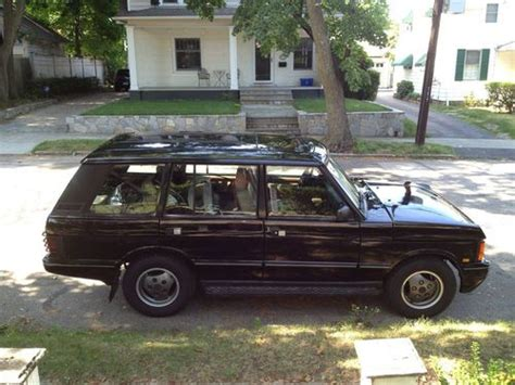 purchase used 1995 range rover classic lwb no reserve
