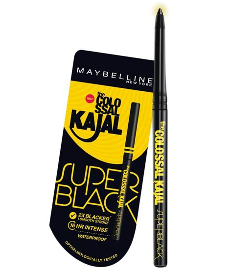 Maybelline Kajal maybelline colossal kajal black buy maybelline