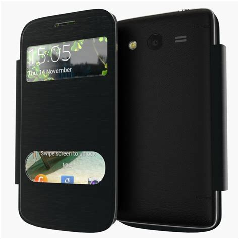 Casinghousing Samsung 2 G355h for samsung galaxy 2 g355h battery housing cover cases flip view window protective