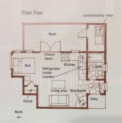 tree floor plan one tree house tiny house design