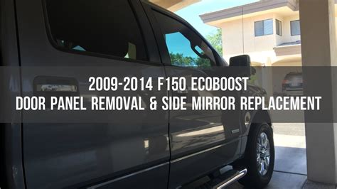 F150 Door Panel Removal by Ford F150 Door Panel Removal Side Mirror Replacement