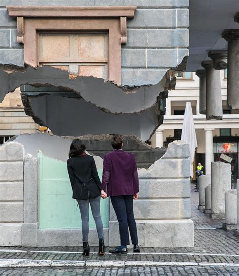 groupon haircut covent garden alex chinneck levitates covent garden s market building in