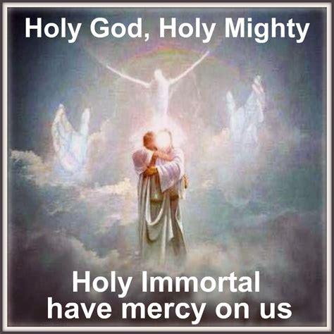 thrice holy trisagion aka thrice holy holy god holy mighty holy