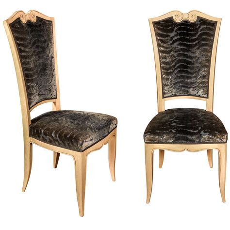 High Back Chairs For Sale by Set Of Eight High Back Chairs For Sale At 1stdibs