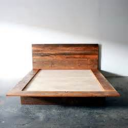 wooden platform bed frame 25 best ideas about wood bed frames on bed