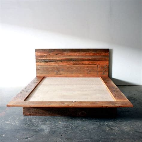 Reclaimed Wood Platform Bed Frame Why A Platform Bed Frame Tcg
