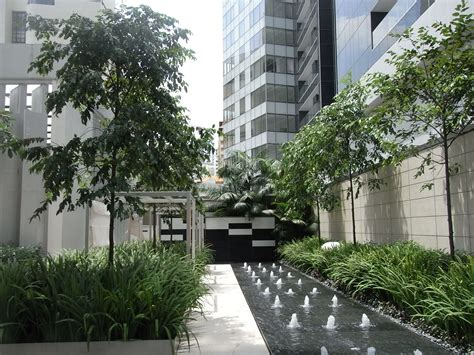 St Redish Square st regis singapore pool search landscape architecture water features