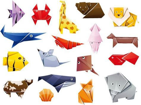 Origami Graphic - free vector graphics and vector infographics resources for