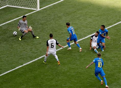 brazil beat costa rica victory gives argentina