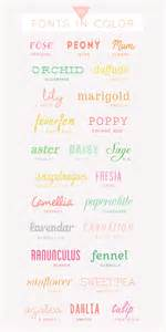 free color fonts 25 free colorful fonts a subtle revelry